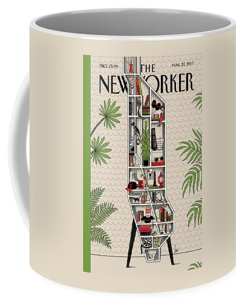 Shelf Life Coffee Mug featuring the painting Shelf Life by Luci Gutierrez