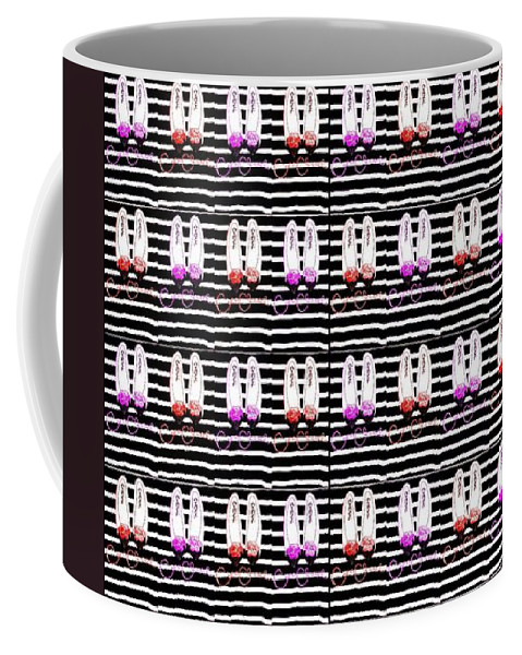 Abstract Coffee Mug featuring the digital art Shoes For Women by Ian Gledhill