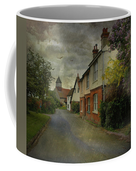 Rain Coffee Mug featuring the photograph Showers by Fran J Scott