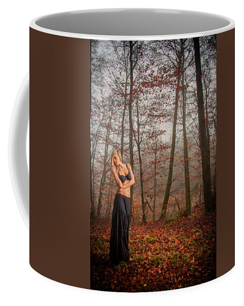 Woman Coffee Mug featuring the photograph Sideview by Ralf Kaiser