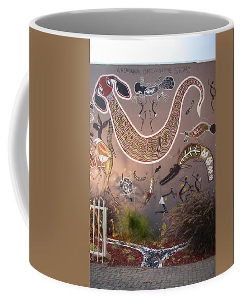 Australia Queensland Qld Coffee Mug featuring the digital art Silver Gull Central Cairns by Carol Ailles