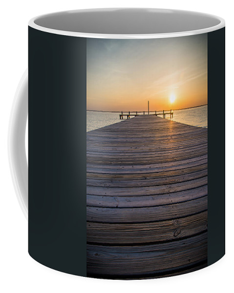 New Jersey Coffee Mug featuring the photograph Simple Setting by Kristopher Schoenleber