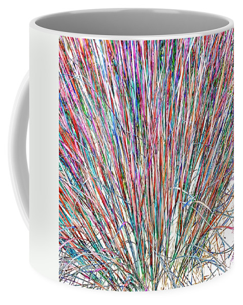 Grasses Coffee Mug featuring the photograph Simply Grass 2 by Steve Harrington