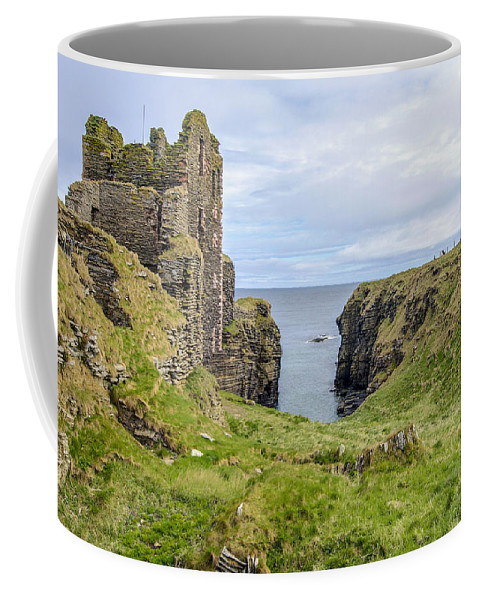 Sinclair Castle Coffee Mug featuring the photograph Sinclair Castle Scotland - 5 by Paul Cannon