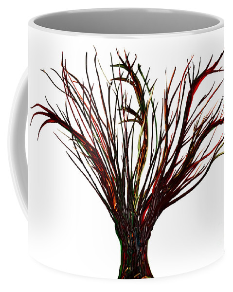 Tree Coffee Mug featuring the painting Single Bare Tree Isolated by Simon Bratt Photography LRPS