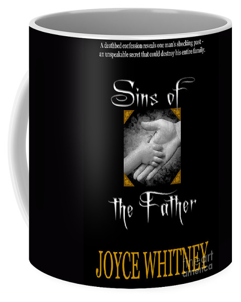 Book Cover Coffee Mug featuring the photograph Sins Of The Father Book Cover by Mike Nellums