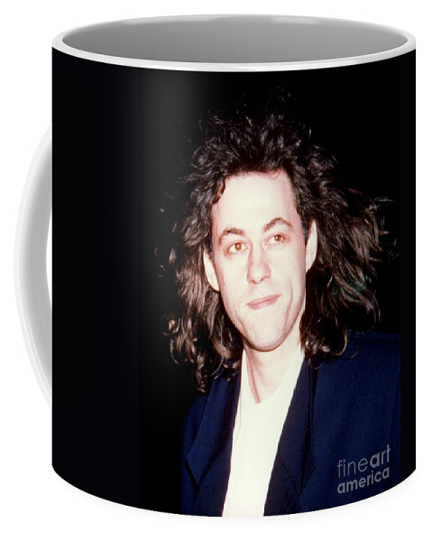 Musician Coffee Mug featuring the photograph Sir Bob Geldorf 1989 by Ed Weidman