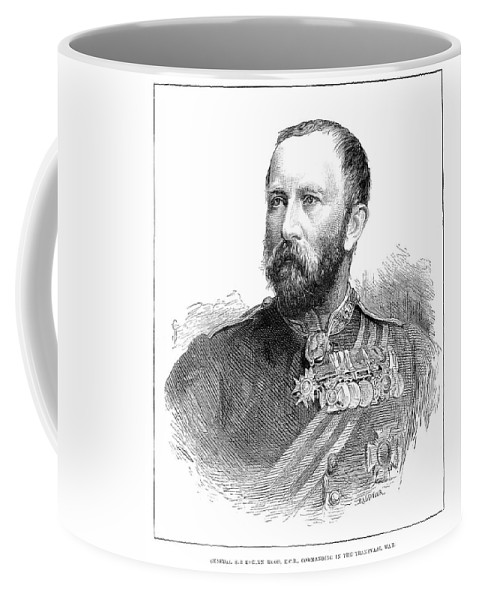 1881 Coffee Mug featuring the painting Sir Evelyn Wood by Granger