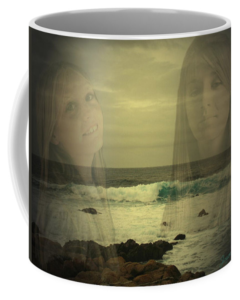 Custom Work Coffee Mug featuring the photograph Sisters Forever by Joyce Dickens