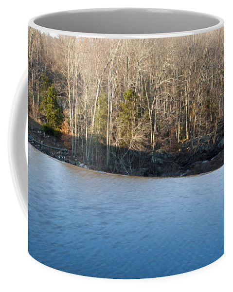 Photography Coffee Mug featuring the photograph Situate Dam by Steven Natanson