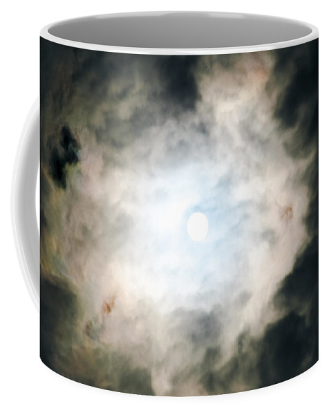 Sizzling In Sapphire Coffee Mug featuring the photograph Sizzling In Sapphire by Sharon Mau