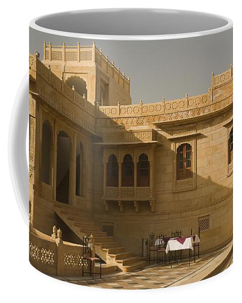 Palatial Coffee Mug featuring the photograph Skn 1322 Palatial Architecture by Sunil Kapadia