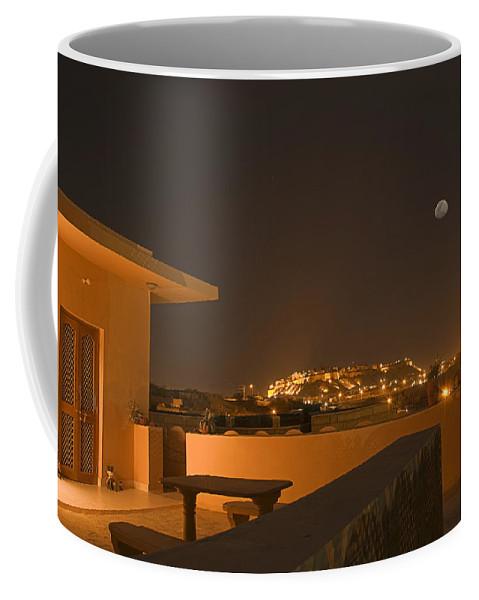Golden Coffee Mug featuring the photograph Skn 1348 Golden Illumination by Sunil Kapadia