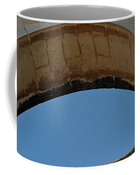 Arch Coffee Mug featuring the photograph Sky Cutter by Joseph Yarbrough