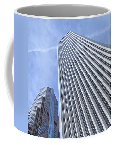 Chicagoland Coffee Mug featuring the photograph Sky High by Ann Horn