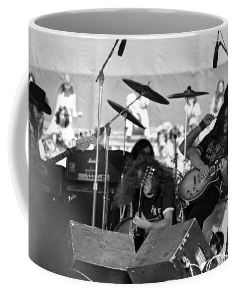 Lynyrd Skynyrd Coffee Mug featuring the photograph Skynyrd #16 Crop 1 by Ben Upham