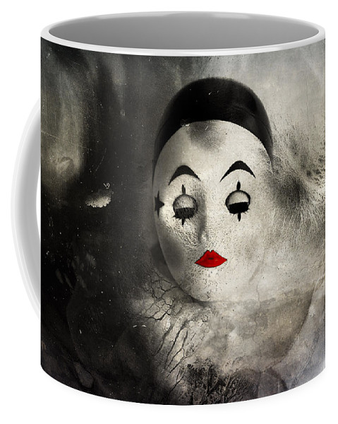 Doll Face Coffee Mug featuring the photograph Sleeping Night by The Artist Project