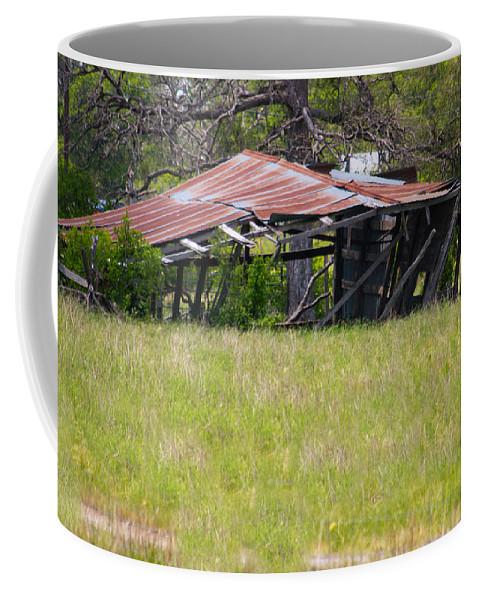 Texas Coffee Mug featuring the photograph Austin Texas Slow Collapse by JG Thompson