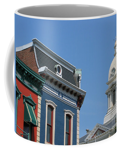 Town Coffee Mug featuring the photograph Small Town America by Ann Horn
