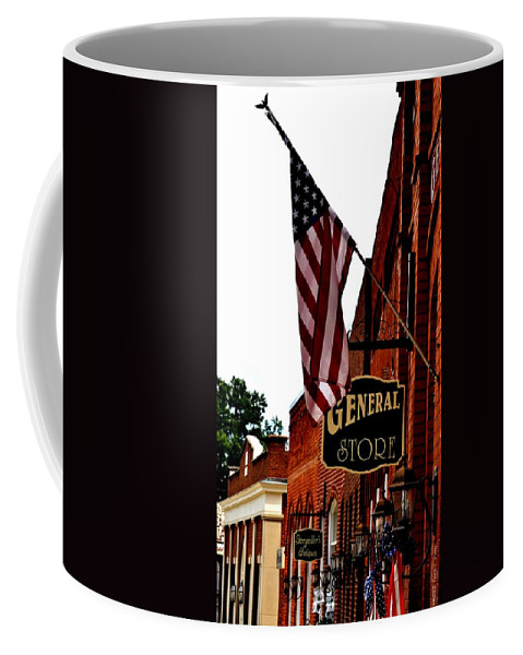Small Town Coffee Mug featuring the photograph Small Town Patriotism by Tara Potts