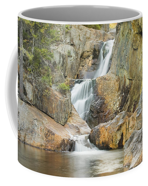 Maine Coffee Mug featuring the photograph Smalls Falls In Western Maine by Keith Webber Jr