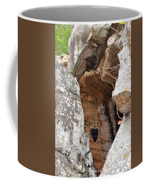 Smile Coffee Mug featuring the photograph Smile by Maria Urso