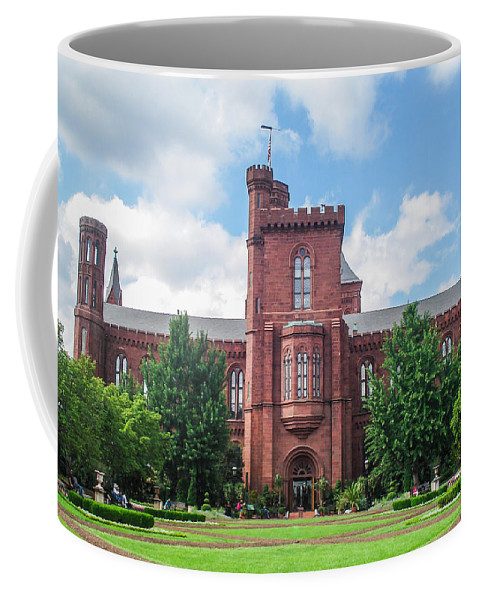 Smithsonian Coffee Mug featuring the photograph Smithsonian Castle by J Allen