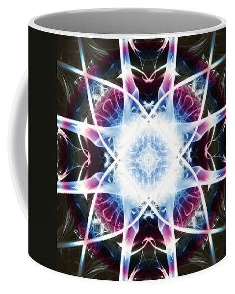 Smoking Trails Coffee Mug featuring the photograph Smoke Art 55 by Steve Purnell