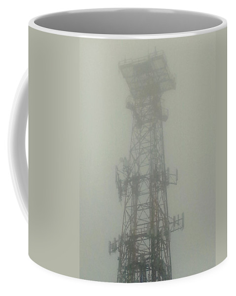 Fog Coffee Mug featuring the photograph Smoke Signals by Pablo Rosales