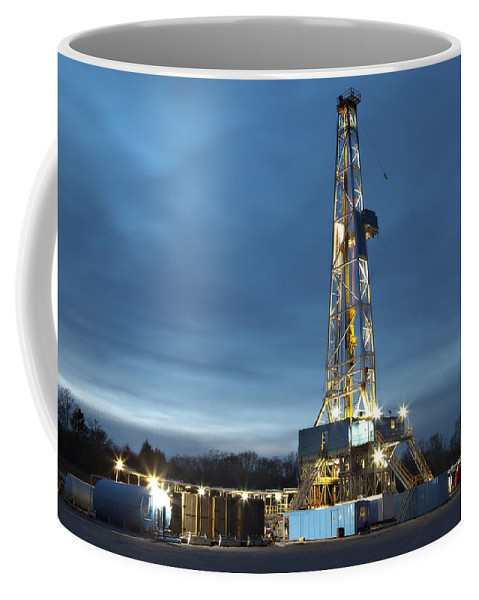 Driller Coffee Mug featuring the photograph Smooth Drilling by Jonas Wingfield