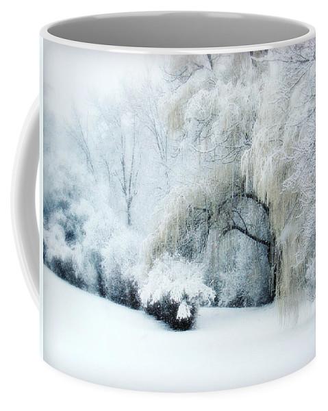 Snow Dream Coffee Mug featuring the photograph Snow Dream by Julie Palencia