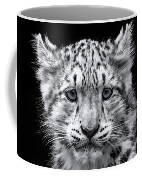 Snow Coffee Mug featuring the photograph Snowcub by Chris Boulton