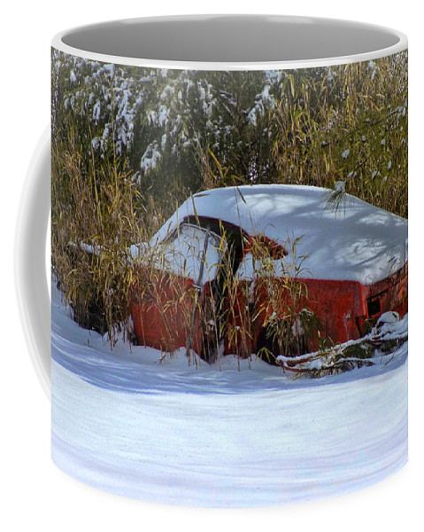 Victor Montgomery Coffee Mug featuring the photograph Snowy Fastback by Victor Montgomery