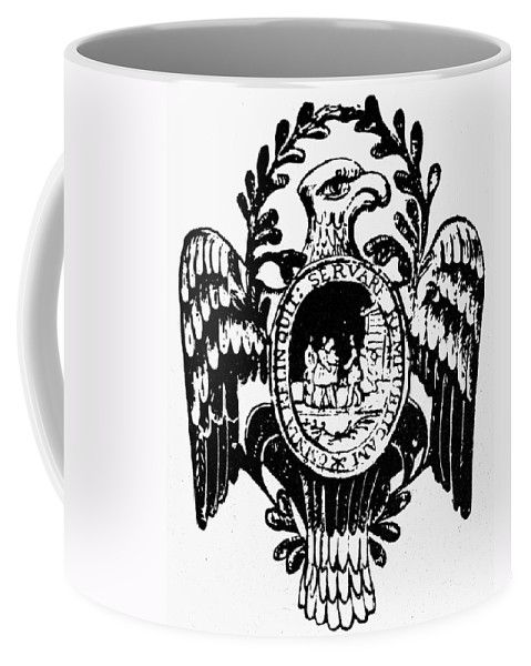 American Coffee Mug featuring the photograph Society Of The Cincinnati by Granger