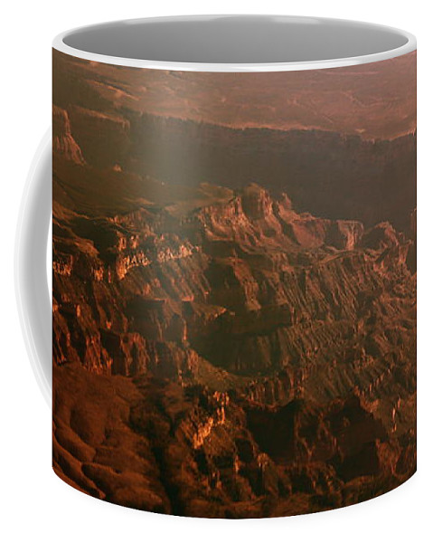 Rocky Coffee Mug featuring the photograph Soft Early Morning Light Over The Grand Canyon 3 by Kume Bryant