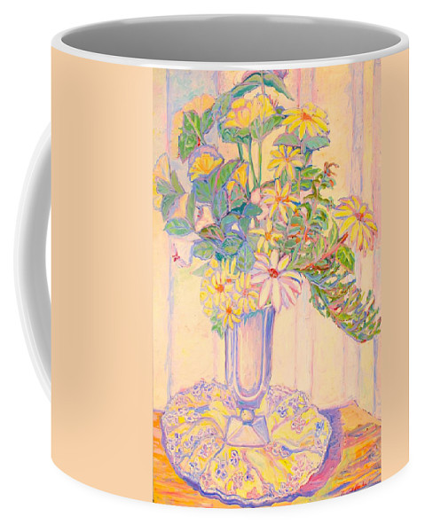 Flowers Coffee Mug featuring the painting Soft Light by Kendall Kessler