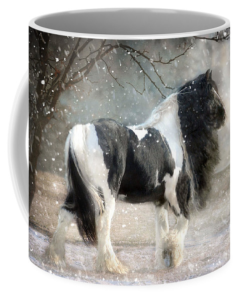 Horse Photographs Coffee Mug featuring the photograph Solitary by Fran J Scott