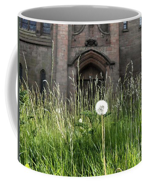 Church Coffee Mug featuring the photograph Solitude by Joan-Violet Stretch
