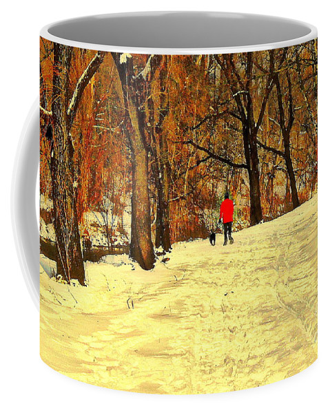 Photo Coffee Mug featuring the photograph Solitude With A Friend by Tami Quigley