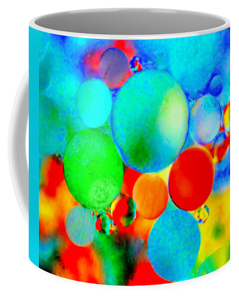 Abstract Coffee Mug featuring the photograph Something Out Of Nothing by Wayne King
