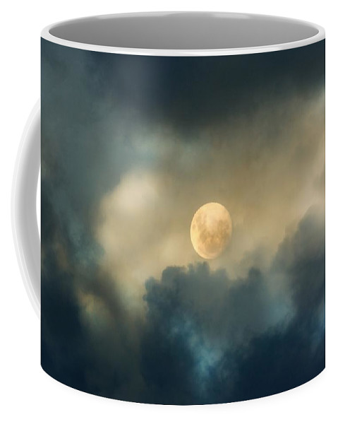 Moon Coffee Mug featuring the photograph Song To The Moon by Georgiana Romanovna