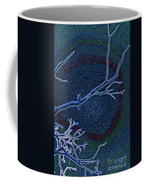 First Star Art By Jrr Coffee Mug featuring the photograph Songbird Blue by First Star Art