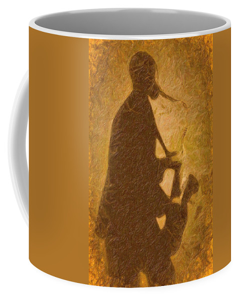 Music Coffee Mug featuring the photograph Sonny by Terry Fiala