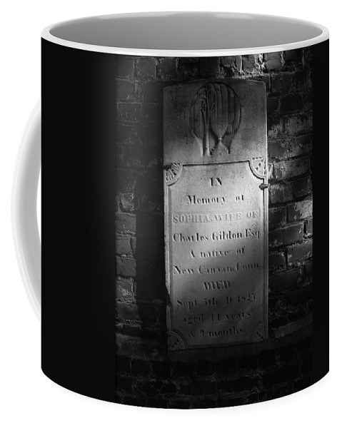 Civil War Coffee Mug featuring the photograph Sophia..... 1827 by Brittany Horton