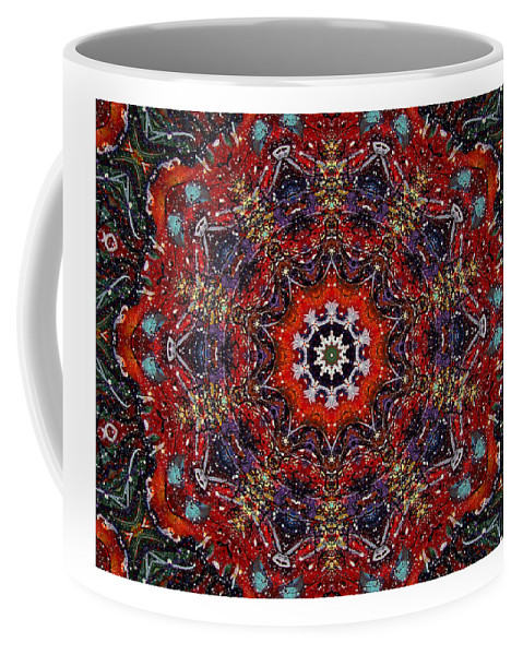Cosmos Coffee Mug featuring the mixed media Soul Of The Universe by Natalie Holland