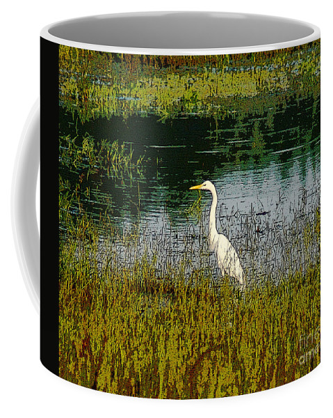 Abstract Coffee Mug featuring the photograph South by Kim Pate