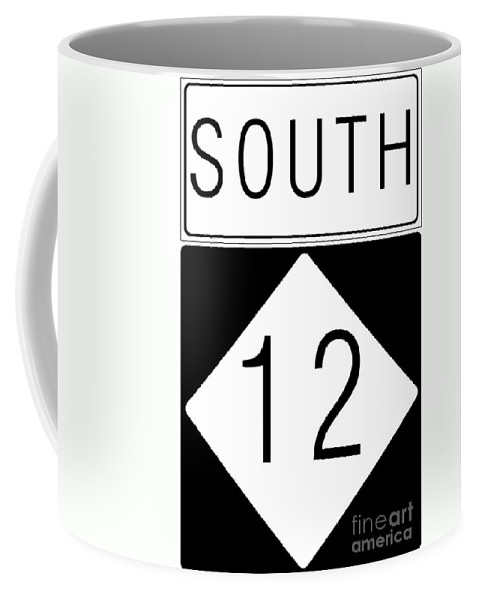 Feature Coffee Mug featuring the digital art South Nc 12 by Paulette B Wright