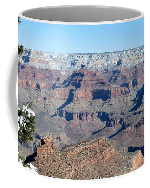 Grand Canyon National Park Coffee Mug featuring the photograph South Rim Grand Canyon National Park by Laurel Powell