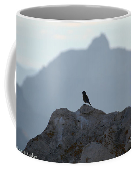 Arizona Coffee Mug featuring the photograph South Rim Morning by Susan Herber