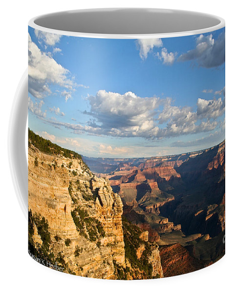Grand Canyon Coffee Mug featuring the photograph South Rim Sunrise by Susan Herber